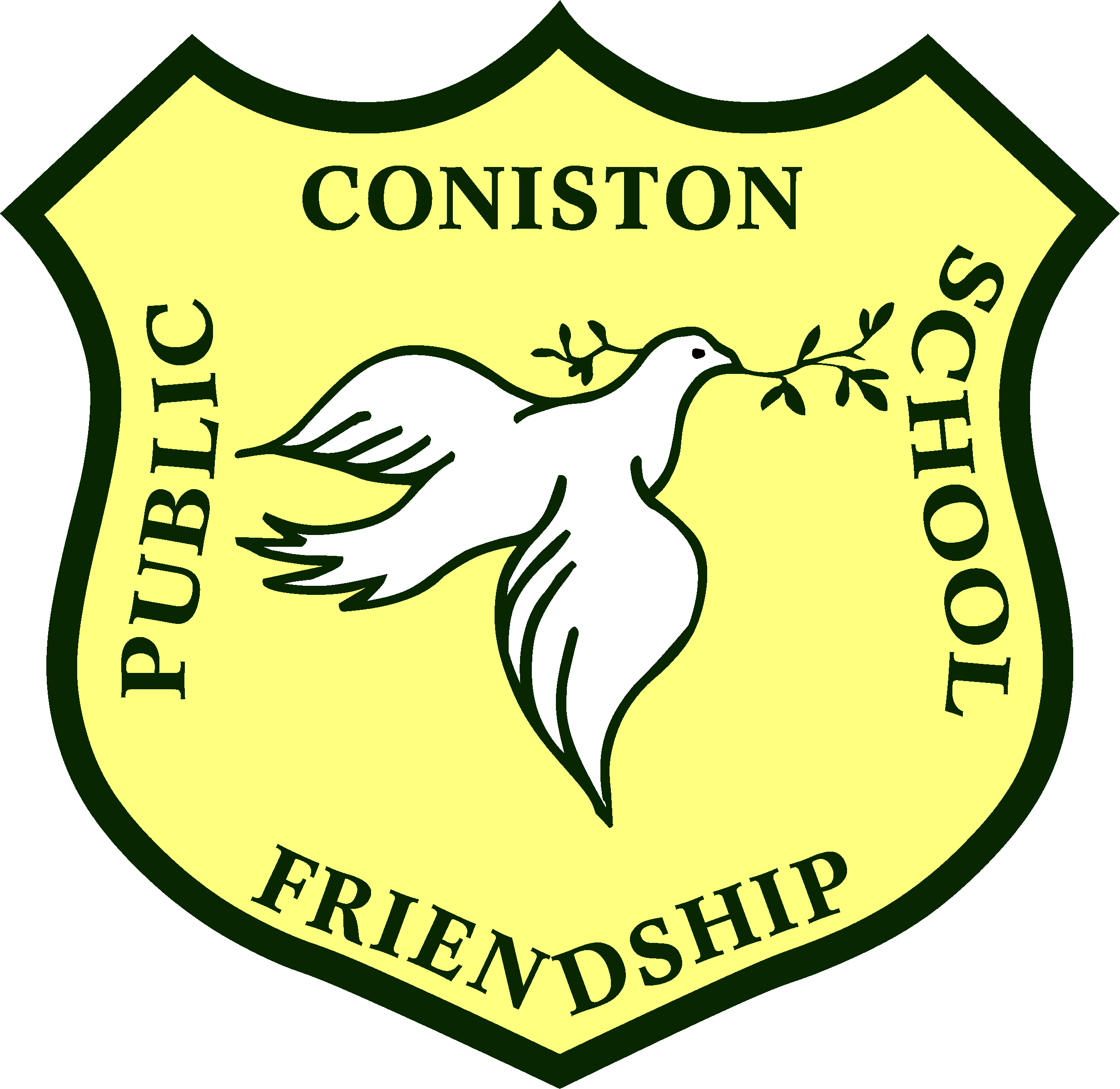 Coniston Public School logo